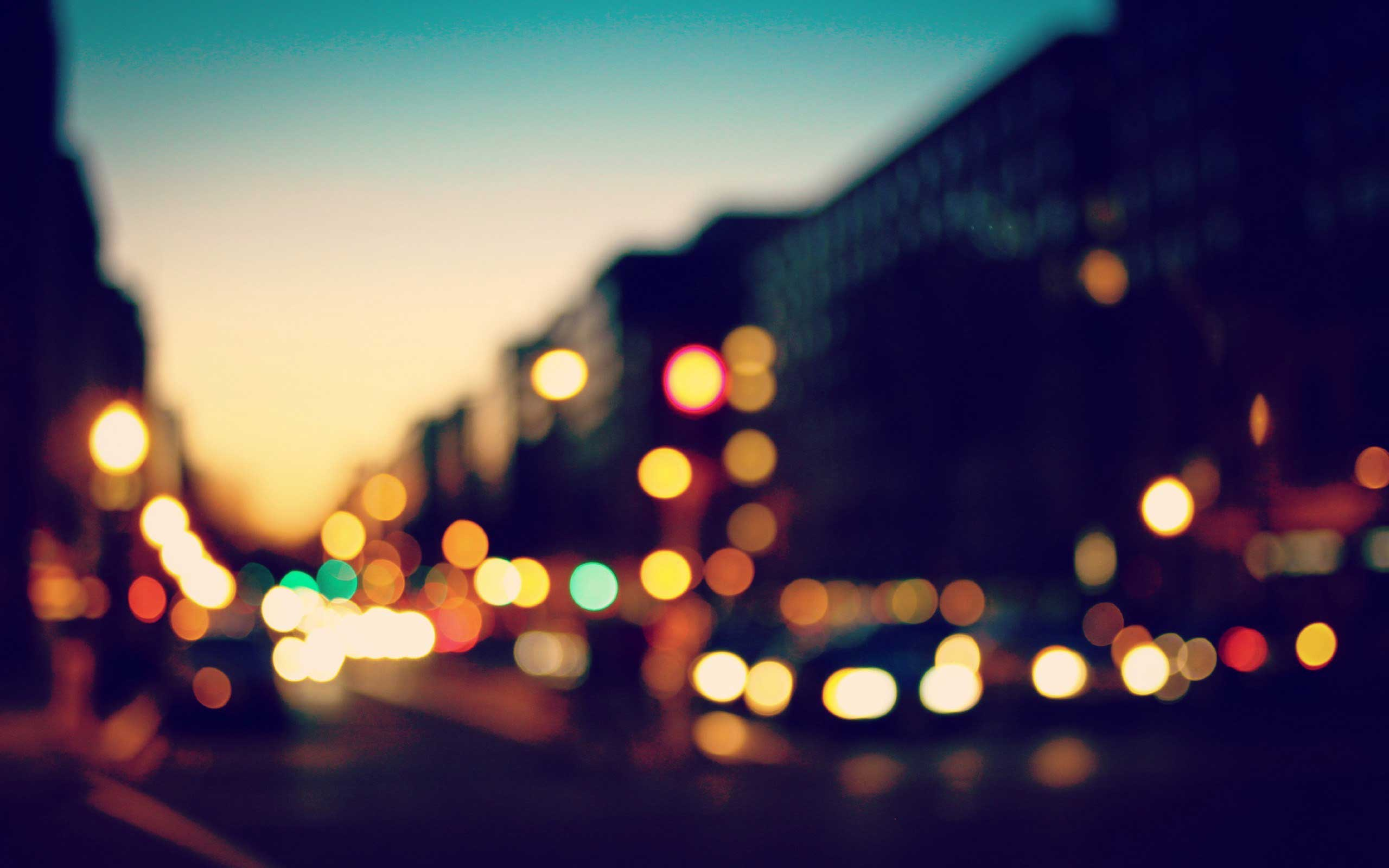 bokeh-lights-sunset-city